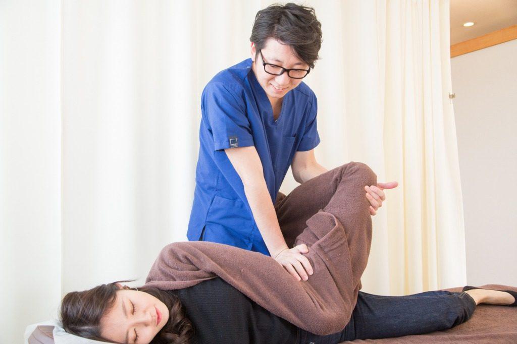 蕨整骨院の坐骨神経痛施術
